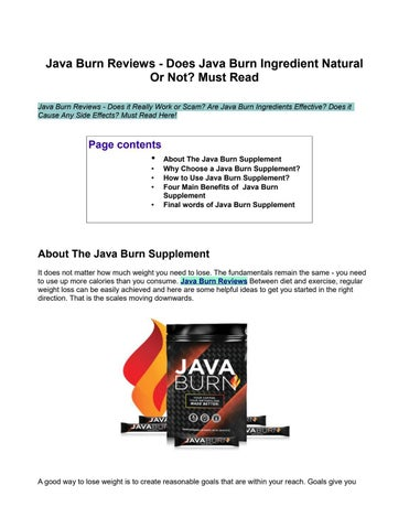 Java Burn Reviews: Discover THIS Critical Update Before Buying HeraldNet.com