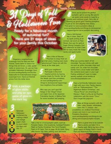 Page 20 of 31 Days of Fall & Halloween Fun