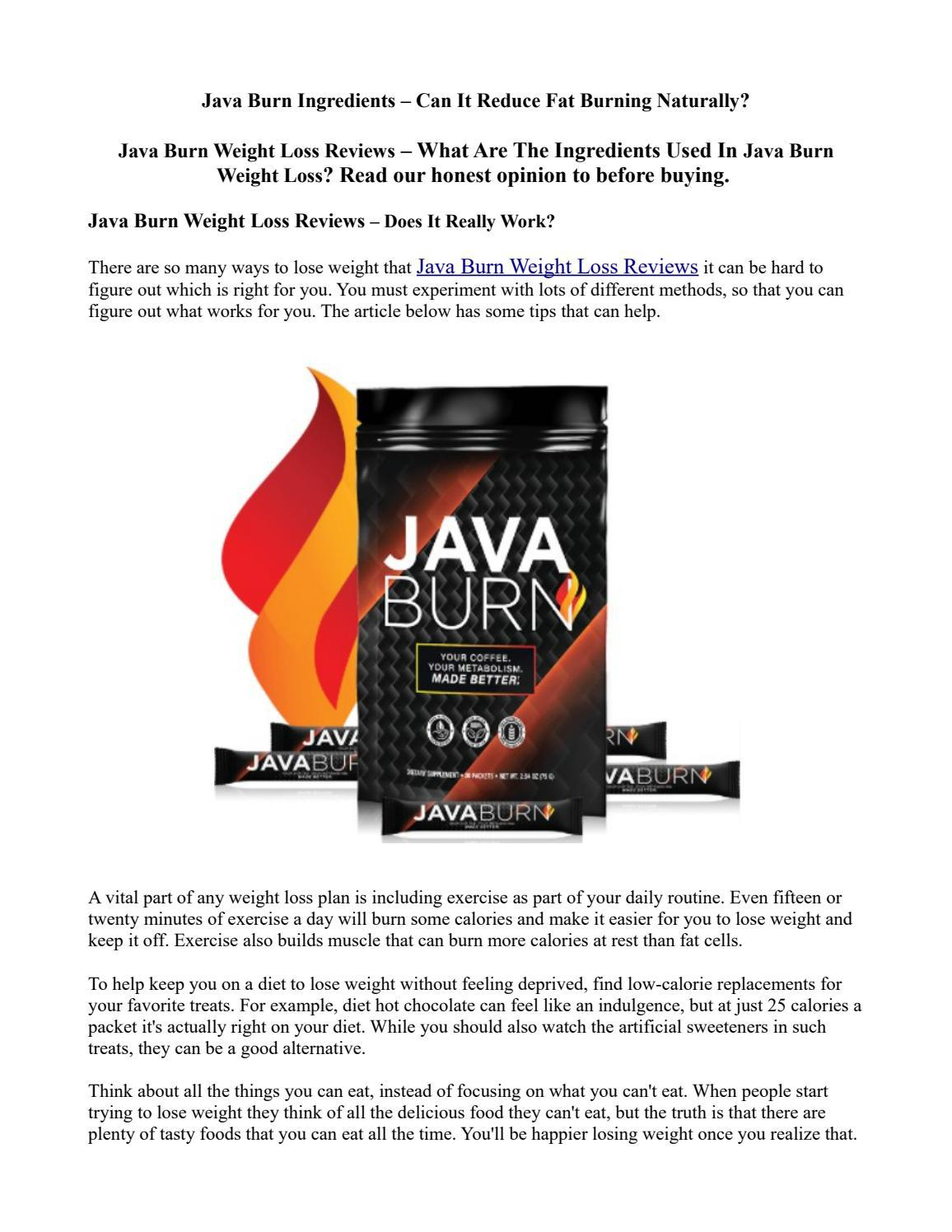 Java Burn Reviews - Is Java Burn powder good for weight loss? - East Bay Times