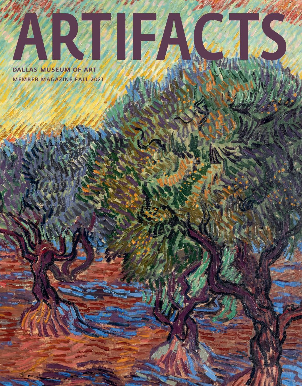 Artifacts Fall 2021 Member Magazine by Dallas Museum of Art - issuu