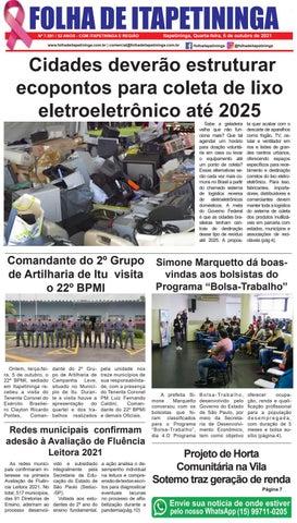 Folha de Itapetininga 06/10/2021 (Quarta-feira)