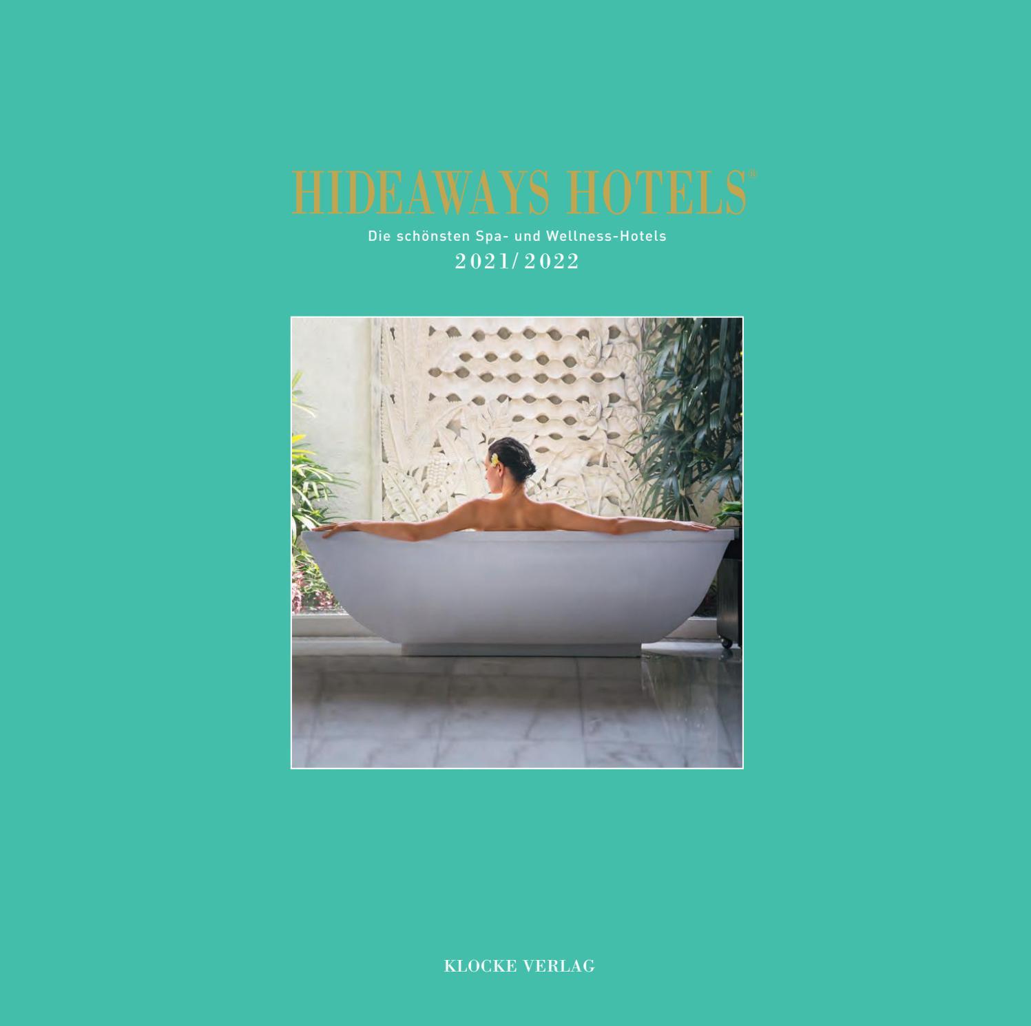 Hideaways Spa Guide 20/20 by Klocke Verlag   issuu
