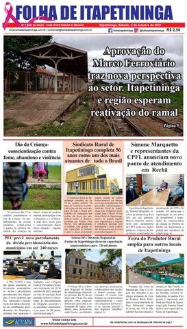 Folha de Itapetininga 09/10/2021 (Sabado)