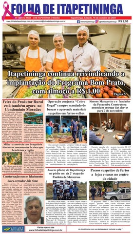 Folha de Itapetininga 16/10/2021 (Sabado)